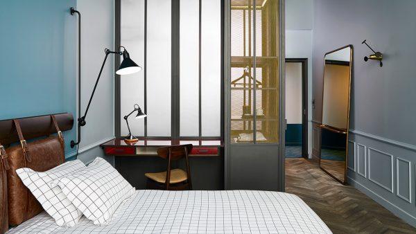 Signatures Singulières Magazine. Humbert et Poyet. Hotel Hoxton à Paris.