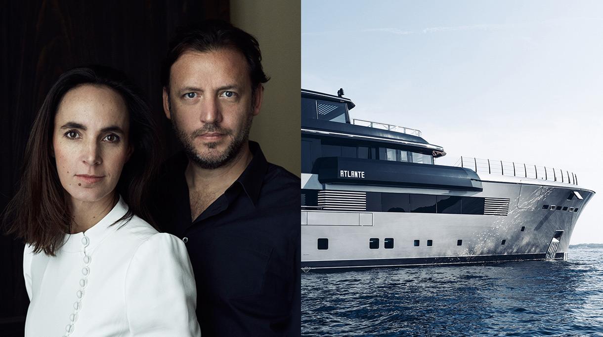 Gilles et Boissier - French interior designer - Luxury Yacht - 55 meters - The Nuvolari-Lenard studio - yacht Atlante - Signatures Singulières Magazine - The digital magazine of French talent
