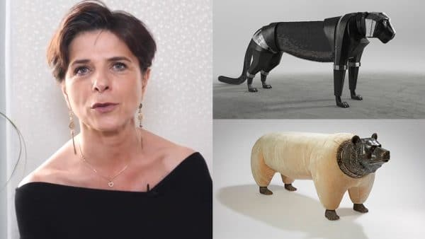 Cécile Ballureau - French interior designer and sculptor - Panther - bear - Signatures Singulières - The digital magazine of French talent
