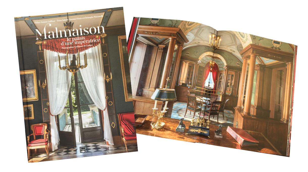 Malmaison, le palais d'une impératrice - Editions des Falaises - Art book - Signatures Singulières Magazine - The digital magazine of French talent