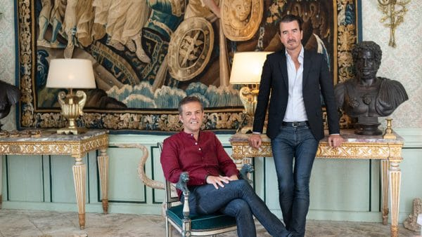 CM Studio Paris - french agency interior designer - john-coury - florent maillard - old tapestry - baroque apartment in paris - Ile de la Cité - Signatures Singulières - The digital magazine of French talent