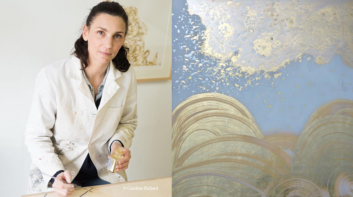 Solène Eloy - Decorative painter - French artist - wall decor - fresco artist - Atelier du Mur Agency - Signatures Singulières Magazine - The digital magazine of French talent