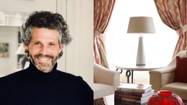 Nicolas Aubagnac - French interior designer - French designer - darius lamp - parchment - parisian apartment - red mud - Signatures Singulières Magazine - The digital magazine of French talent