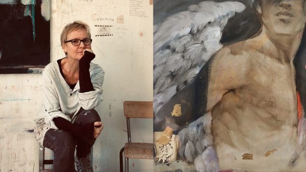 Nathalie Sizaret - french artist painter - oil painting - art - Mixed technique - signatures Singulières Magazine - The digital magazine of French talent
