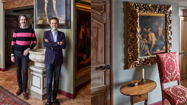 CM Studio Paris - french agency interior designer - john-coury - florent maillard - Italian painting -baroque apartment in paris - Maison Sémonville - giltwood frame - Signatures Singulières - The digital magazine of French talent