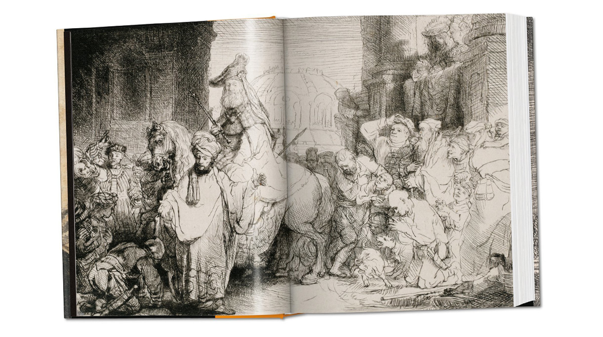 Editions Taschen - Rembrandt - art - book - Drawing and engraving - Signatures Singulieres - The digital magazine of French talent