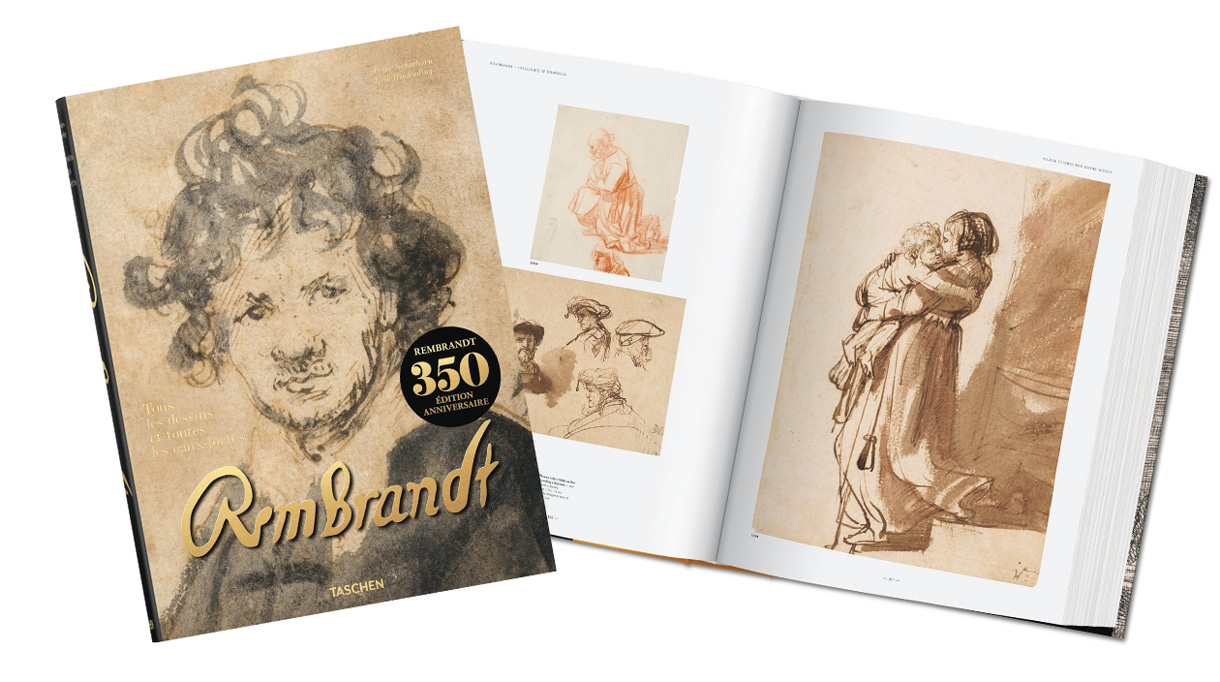 Editions Taschen - Rembrandt - art book - Drawing and engraving - Signatures Singulieres - The digital magazine of French talent