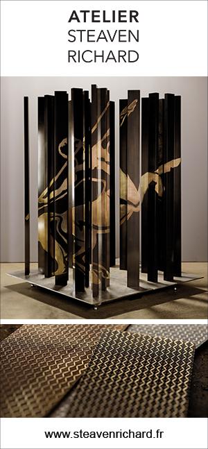 Steaven Richard - Ferronier d'art - Cognac Remy Martin - Signatures Singulières