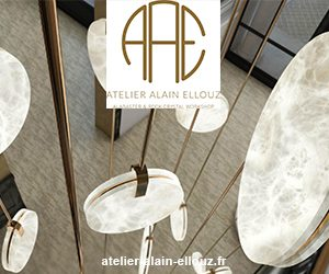 Alain Ellouz lighting - French luminaire manufacturer - Alabaster luminaire - LED lighting - French contemporary lighting - French know-how - Signatures Singulières Magazine - The digital magazine of French talent