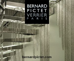 bernard pictet - an Haute Couture glassmaker