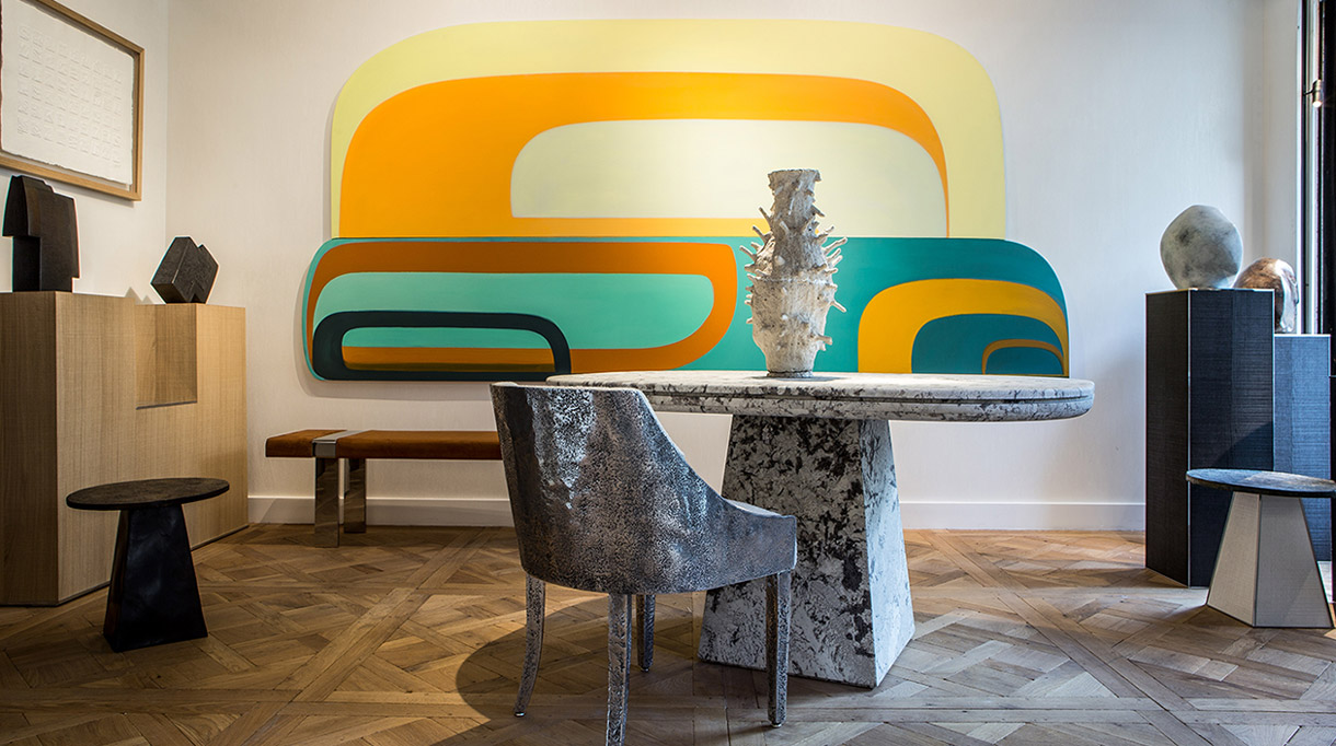 gallery stephanie coutas - interior designer - Joanna Pousette-Dart - signatures singulieres magazine
