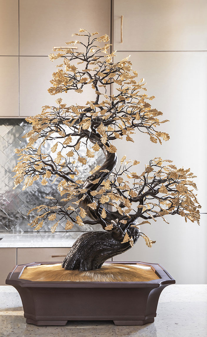 sebastien caron - french interior designer - parisian apartment - Bonsai by Pierre Salagnac at Maison Charles - signatures singulieres - le magazine digital des talents francais
