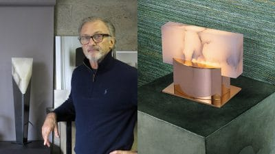 Ateliers torsades - roger pradier - french lighting designer - bronze and alabaster lamp - signatures singulieres - le magazine digital des talents francais