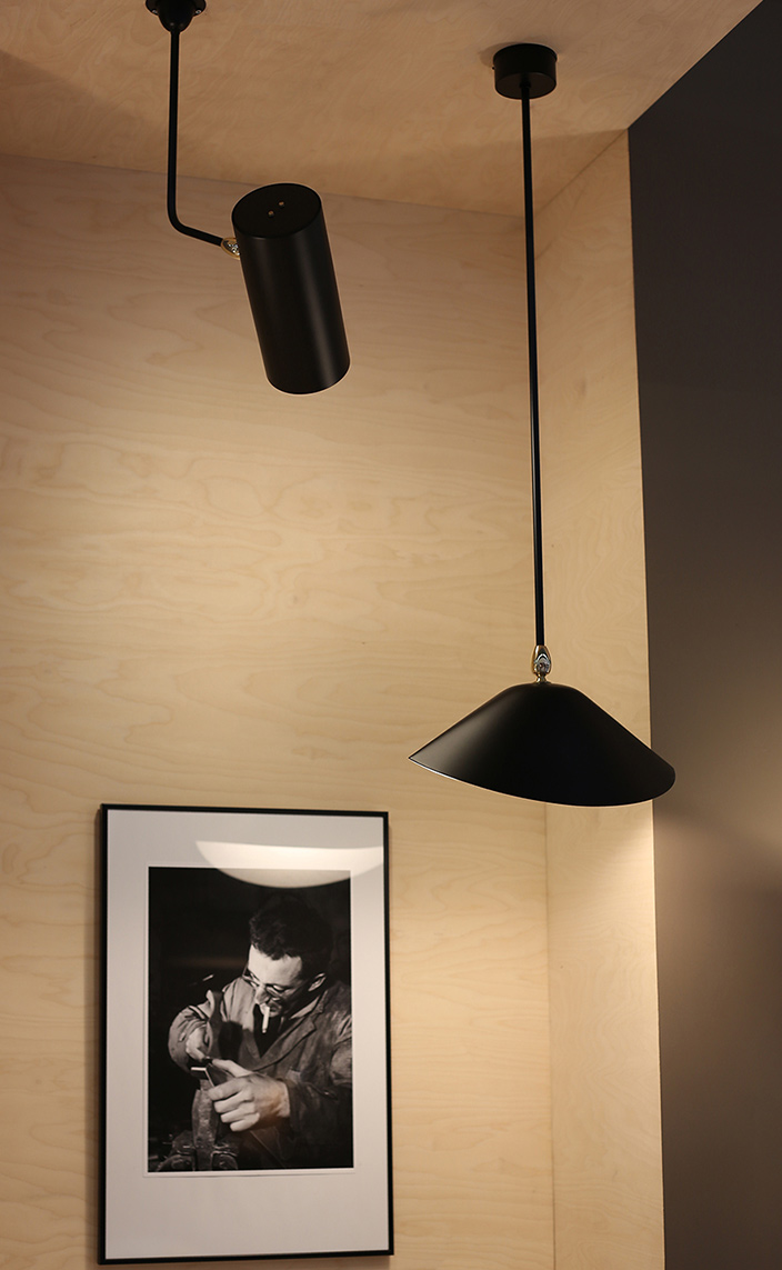 editions serge mouille - iconic lighting - signatures singulieres magazine