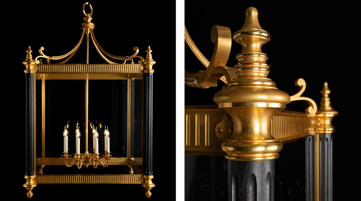 remy garnier - chandelier in bronze - signatures singulieres magazine