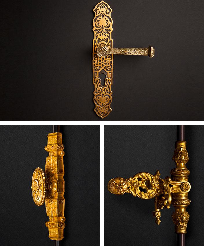 remy garnier - bronze espagnolettes and cremone bolts - signatures singulieres magazine